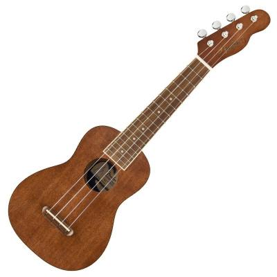 Fender Ukulele Seaside Soprano Ukulele Pack Natural