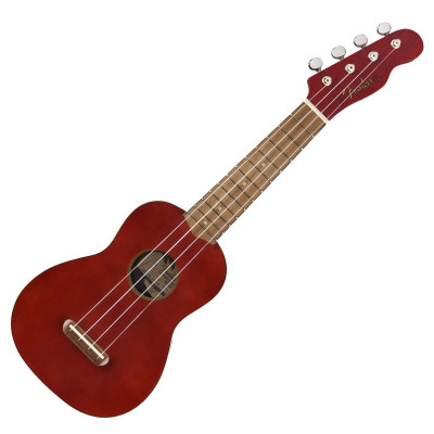 Ukulele Fender Venice Soprano Cherry Red