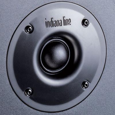 Indiana Line Nota 260 XN Nero, Coppia diffusori 2 vie da scaffale