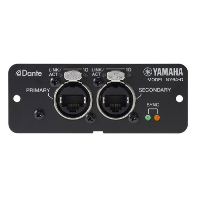 Yamaha NY64D - Scheda  Dante per TF - 40ch