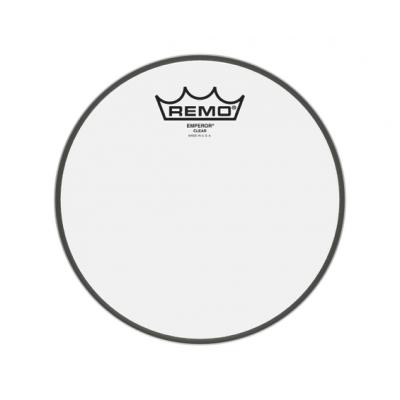 """Pelle Battente trasparente 8"""" Per Tom e Rullante  - REMO 308BE King Emperor Clear 8"""""""
