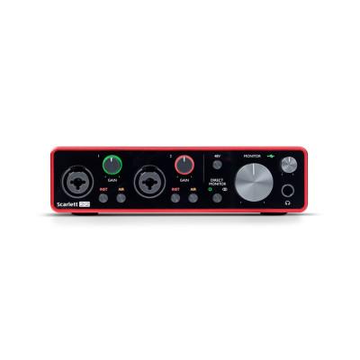 Scheda Audio FOCUSRITE 2I2 (3GEN) Scarlett INTERFACCIA AUDIO