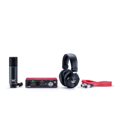 Scheda Audio FOCUSRITE Scarlet STUDIO BUNDLE2I2 (3GEN)