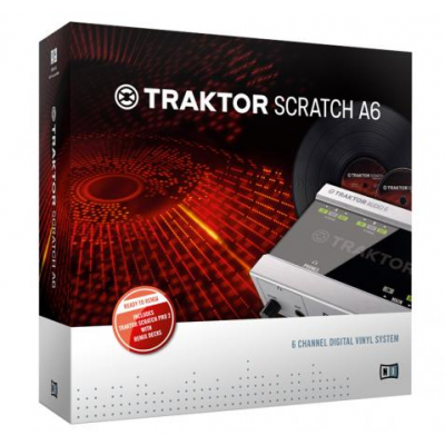 Native Instruments Tracktor Scratch A6 Digital Vinyl System