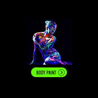 Colori Fluo per Viso e Corpo