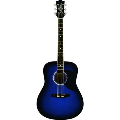 Chitarra acustica Eko Ranger 6 Eq Blu Elettrificata