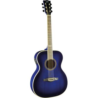 Chitarra acustica Eko Nxt 018 Eq Blue Sunburst