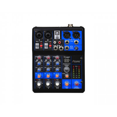 Atomic Mix-S 201 Mixer 2 Canali Mono - 1 Canale Stereo