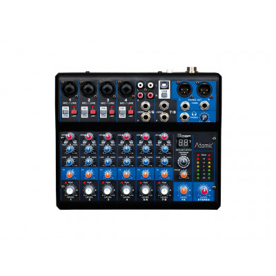 Atomic Mix-S 402 Mixer 4 Canali Mono - 2 Canale Stereo