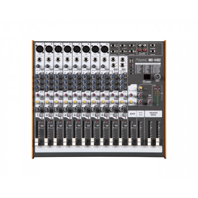 Atomic Mix-H 802 Mixer 8 Canali Mono - 2 Canale Stereo