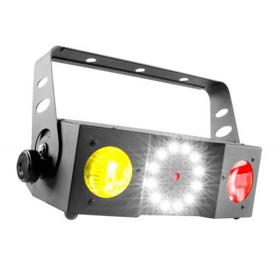 Effetto Luce Atomic4dj TWIN200 Led + Laser