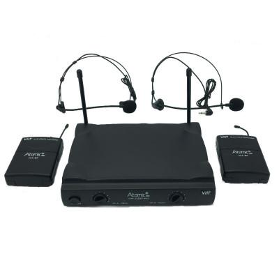 Radiomicrofono VHF252 BP Mk2 Doppio Microfono Archetto Wireless