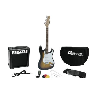 Chitarra Elettrica e Amplificatore con accessori SunBurst