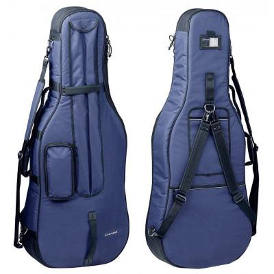 Custodia Gig-Bag per violoncello PRESTIGE, 3/4 blu