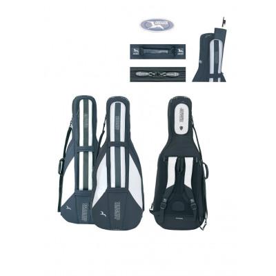 Custodia Gig-Bag per violoncello JAEGER, 1/8 nero/antracite