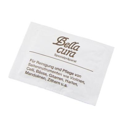 Detergente Standard,Panno per pulizia strumenti ad arco. Bianco.