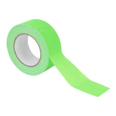 Gaffa Tape 50mm X 25m Verde Fluo UV - Reactive