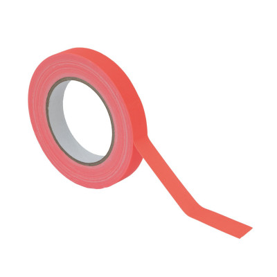 Gaffa Tape 19mm X 25m Arancio Fluo UV - Reactive
