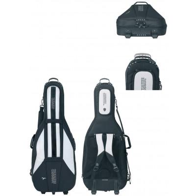 Custodia Gig-Bag per violoncello JAEGER Rolly, 4/4 blu/antracite