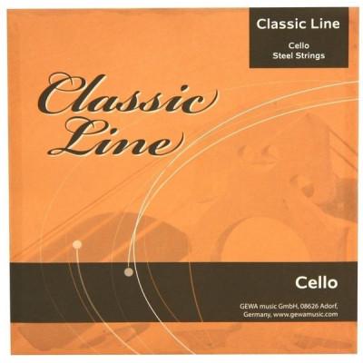 Corde per Violoncello - 4/4 Classic Line Medium