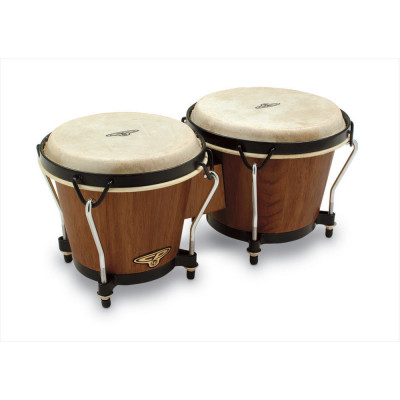 Bongos CP  Traditional, Dark Wood,Latin Percussion,Latin Percussion