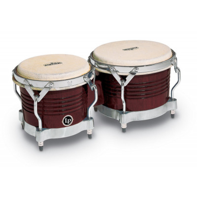 Bongos Matador Wood, Almond Brown,Latin Percussion,Latin Percussion