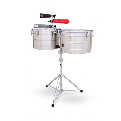 Timbali Tito Puente Thunder Timbs, Stainless Steel,Latin Percussion,Latin Percussion