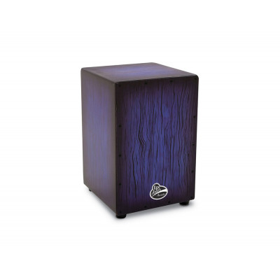 Cajon Aspire Accents, Blueburst Streak,Latin Percussion,Latin Percussion