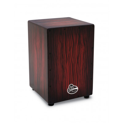 Cajon Aspire Accents, Dark Wood Streak,Latin Percussion,Latin Percussion