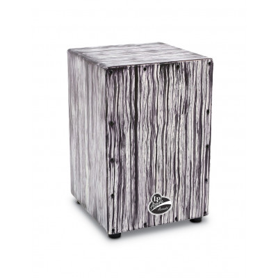 Cajon Aspire Accents, White Streak,Latin Percussion,Latin Percussion