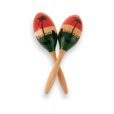 Maracas CP  Wood, Painted,Latin Percussion,Latin Percussion