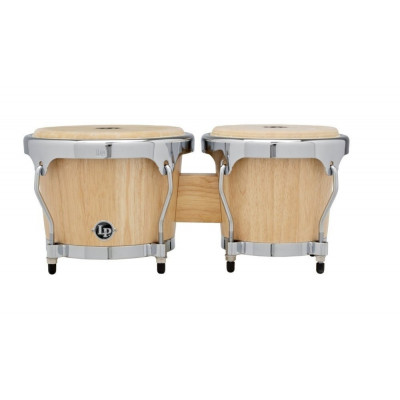 Bongos Highline, Satin Natural,Latin Percussion,Latin Percussion