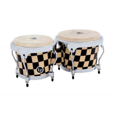 Bongos Aspire Accent, Checkerboard,Latin Percussion,Latin Percussion