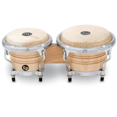 Bongos Mini Tunable, Natural,Latin Percussion,Latin Percussion