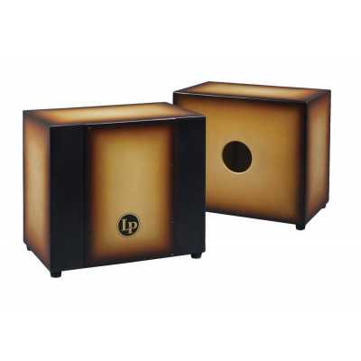 Cajon Matador Triple Percussion, Vintage Sunburst,Latin Percussion,Latin Percussion