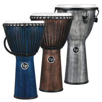 Djembe World Beat FX ,Accordatura a corda, , Grigio,Latin Percussion,Latin Percussion