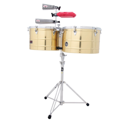 Timbali Prestige Thunder Timbs, Stainless Steel,Latin Percussion,Latin Percussion