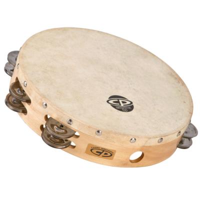 """Tamburello CP  Wood, 10"""", due file di piattini,Latin Percussion,Latin Percussion"""
