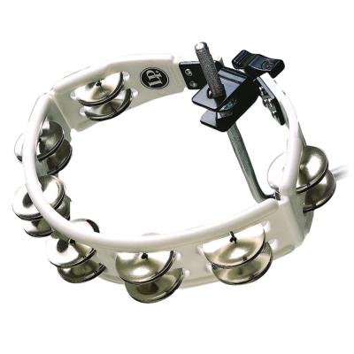 Tamburello Cyclop mountable, Sonagli in acero, bianco,Latin Percussion,Latin Percussion