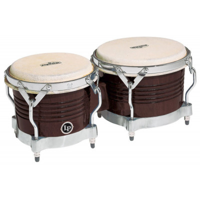 Bongos Matador Wood, Dark Wood,Latin Percussion,Latin Percussion