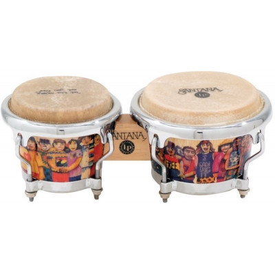 Bongos Mini Tunable, Santana Mini-Bongos,Latin Percussion,Latin Percussion