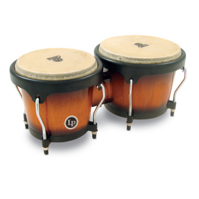 Bongos Aspire, Vintage Sunburst,Latin Percussion,Latin Percussion
