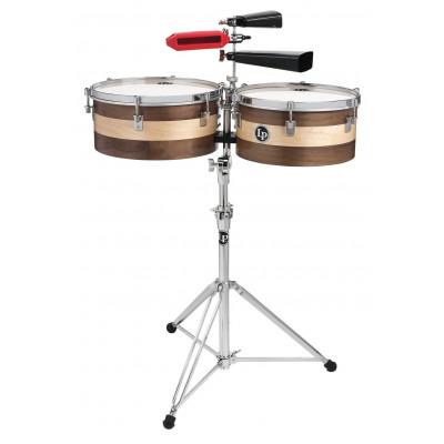 "Timbali Sheila E. Signature Wood Timbales, 14""/15"",Latin Percussion,Latin Percussion"