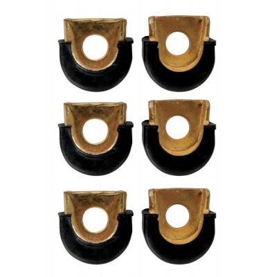 """Shell Protectors Congas, 3/8"""" Forato, Cromato [6 Pz.],Latin Percussion,Latin Percussion"""