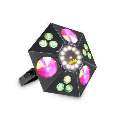 Atomic4DJ BlackStar 5 IN 1 Led + Laser Fx