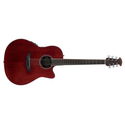 Ovation Chitarra Acustica Elettrificata Celebrity Ruby Red