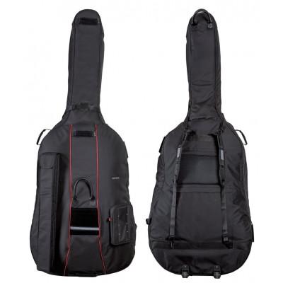 Custodia Gig-Bag per contrabbasso PRESTIGE, 4/4 Rolly