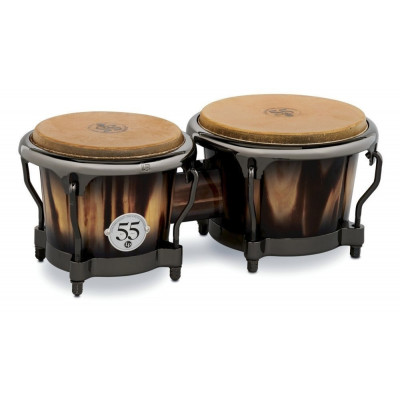 Bongos Set 55th Anniversary Candy Black Burst, Candy Black Fade,Latin Percussion,Latin Percussion