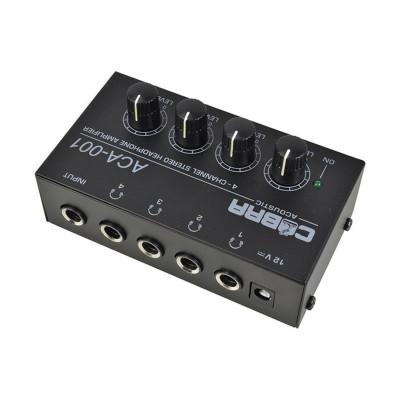 Amplificatore per Cuffie 4 canali HA400 - Ingresso Jack 6,35
