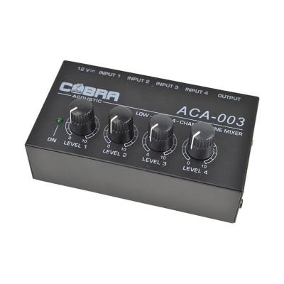 MicroMixer 4 Canali Mono - 1 uscita MX400